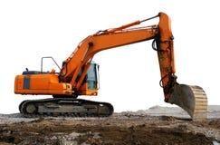 Digger Excavator Royalty Free Stock Photos