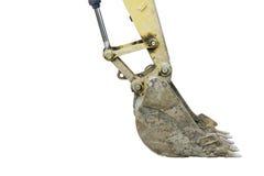Digger excavator bucket bulldozer Royalty Free Stock Photos