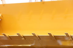 Digger excavator bulldozer shovel close up Stock Photo