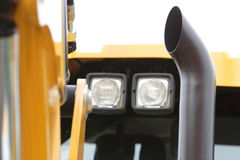 Digger excavator industry detail Royalty Free Stock Photos