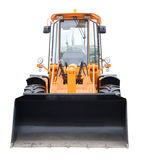 Digger front view Royalty Free Stock Photos
