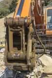 Digger Royalty Free Stock Photography