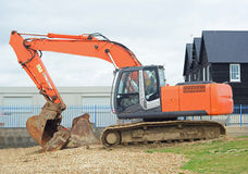 Digger. A photo of a industrial digger Royalty Free Stock Image