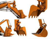 Digger scoop Stock Photos