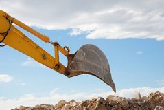 Digger shovel Royalty Free Stock Photography