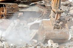 Digger shovel Royalty Free Stock Photography