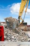 Digger shovel Royalty Free Stock Photo