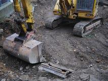 Digger shovel Stock Images