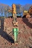 Digger Royalty Free Stock Image