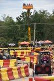 Diggerland USA in Westberlin, New-Jersey lizenzfreie stockfotos