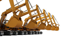 Diggers Stock Photos