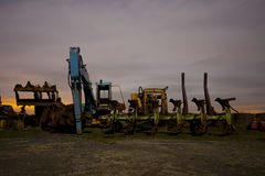 Diggers Stock Photo