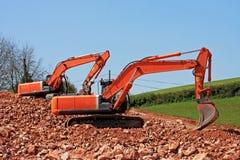 Diggers Stock Image