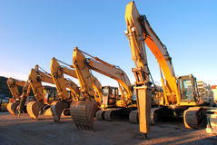 Diggers01 Royalty Free Stock Image
