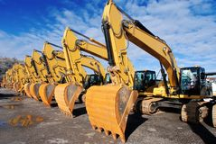 Diggers04 stock photos