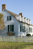Digges House. Built in 1775 in Yorktown, Virginia. First owner Dudley Digges' house now resides in the Colonial National Historical Park, Historical Triangle Royalty Free Stock Photos