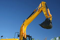Digging Machine Royalty Free Stock Images