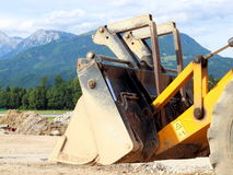 Digging machine II Royalty Free Stock Photo