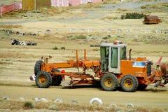 Digging machine Royalty Free Stock Photos