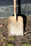 Digging shovel Stock Photography