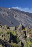 Dighe di Bove Valley - di Etna Immagine Stock