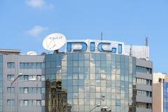 Digi TV DTH Rumuńska platforma Fotografia Royalty Free