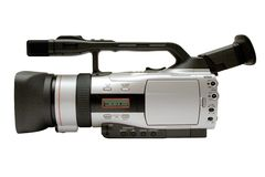 Digita Video Camera w/ Path (Side View) Stock Photography