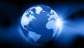 Digitaal Aardeconcept Royalty-vrije Stock Afbeelding