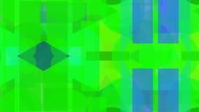 Digitaal abstract ontwerp van groene vormen stock illustratie