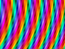 Digitaal Art Abstract Rainbow Stripes Background Stock Afbeeldingen