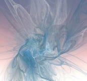 Digitaal art Abstracte Vorm & Kleuren Abstract fractal element F vector illustratie