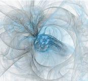 Digitaal art Abstracte Vorm & Kleuren Abstract fractal element FO stock illustratie