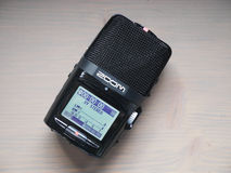 Digitaal audioregistreertoestel Royalty-vrije Stock Afbeelding