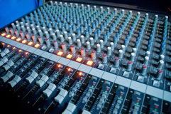 Digitaal AudioWerkstation Royalty-vrije Stock Foto's