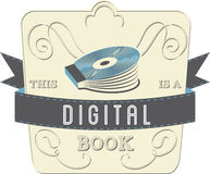 Digitaal Boek Stock Foto