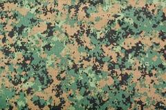 Digitaal camouflagepatroon Stock Afbeeldingen