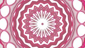 Digitaal cirkel rood grafisch ontwerp op witte achtergrond stock illustratie