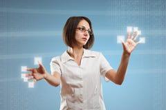 Digitaal concept stock illustratie