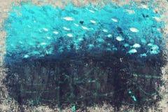 Digitaal die Art Impasto Oil Painting door Fotograaf wordt gecreeerd royalty-vrije illustratie