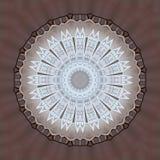 Digitaal die kunstontwerp van lijsten en stoelen wordt gemaakt door caleidoscoop worden gezien Stock Foto