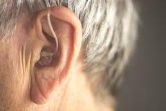 Digitaal gehoorapparaatoor royalty-vrije stock foto