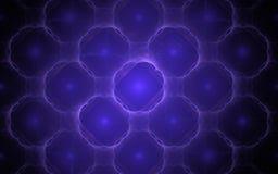 Digitaal geproduceerd die beeld van kleurrijke fractal wordt gemaakt Royalty-vrije Stock Afbeeldingen
