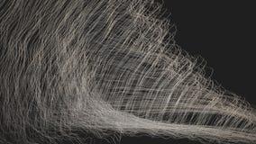 Digitaal Geproduceerde Abstracte Golven stock footage