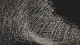Digitaal Geproduceerde Abstracte Golven stock videobeelden