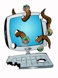 Digitaal gevaar Royalty-vrije Illustratie