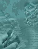 Digitaal Globaal Raadsel Stock Afbeelding