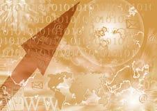 Digitaal heelal Royalty-vrije Stock Afbeeldingen