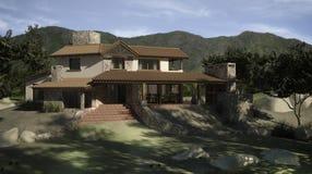 Digitaal huis vector illustratie