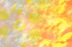 Digitaal Kleurrijk Art Abstract Background royalty-vrije illustratie