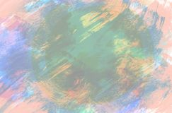 Digitaal Kleurrijk Art Abstract Background stock illustratie